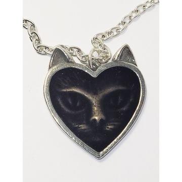 Love Cat | Kocia miłość naszyjnik | Alchemy