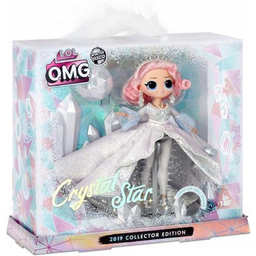 Crystal Star Winter Disco OMG L.O.L Suprise Lalka