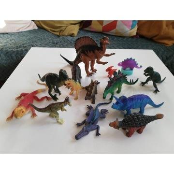 Figurki dinozaury 14 szt zestaw zabawek dinozaur