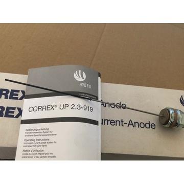 """Anoda Tytanowa Correx 200 mm + korek 3/4"""""""