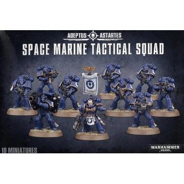 Warhammer 40k Space Marine Tactical Squad