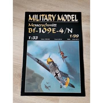 Bf-109E-4/N Military Model 1/33