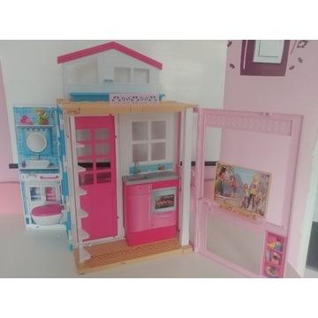 Domek Mattel Barbie łazienka kuchnia salon