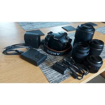 Sony A58 +obiektywy