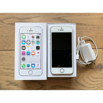 Smartfon Apple iPhone 5S srebrny 16 GB