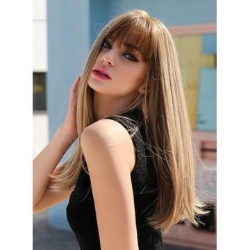 Nowa peruka Melania, długa, uniwersalny rozmiar