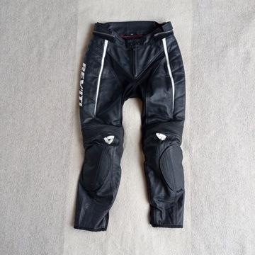 spodnie skórzane Rev'it Xena nowe damskie 38