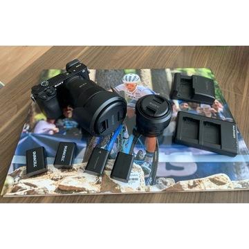 Aparat Sony a6000 +Sony 18-105mm f4 +Sony 35mm 1.8
