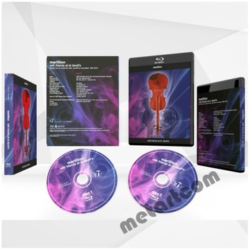 MARILLION WITH FRIENDS AT ST DAVID'S LIVE BLU-RAY