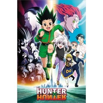 Plakat anime mangi Kurapika hunter x hunter hisoka