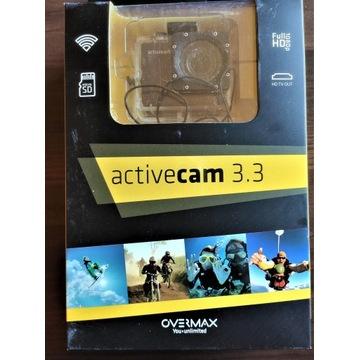 Overmax ActiveCam 3.3 GRATIS karta 32GB jak GoPro