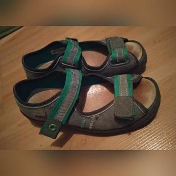Stabilne, ortopedyczne sandały BEFADO - rozmiar 28
