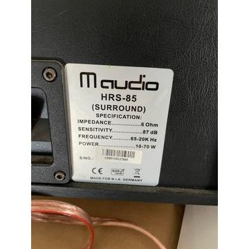 głośniki m-audio hrs-85