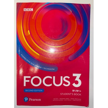 Język angielski Focus 3 Podręcznik