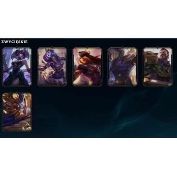 Konto League of legends 298 Skin