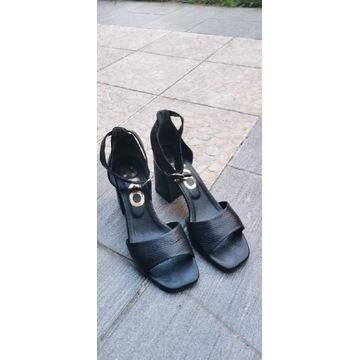 Skórzane sandały RYŁKO