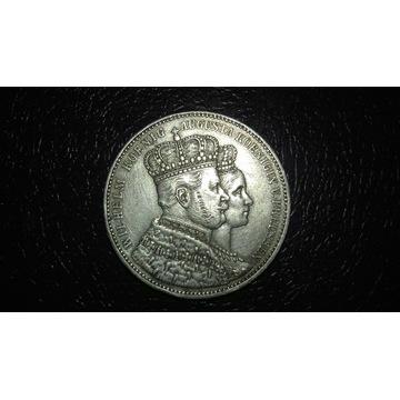 PRUSKI TALAR 1861 ZAŚLUBINOWY