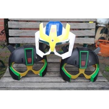 Okulary maski Ninja Transformers  6 sztuk
