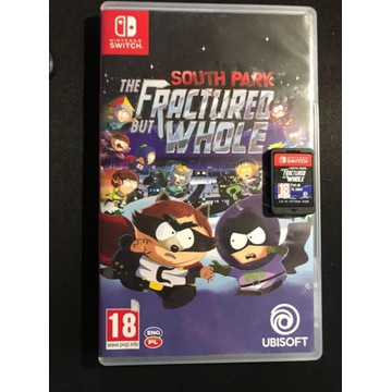SOUTH PARK THE FRACTURED BUT WHOLE Switch Nintendo