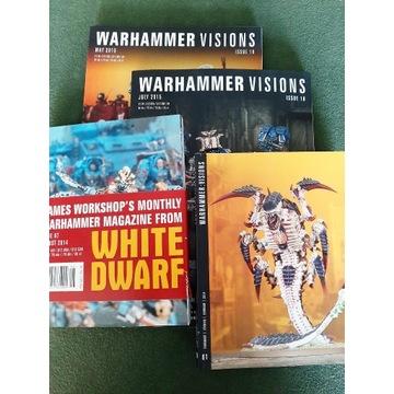WHITE DWARFY-VISIONS - cena za szt.! TANIO !!