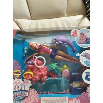 Lalka Barbie z delfinkiem