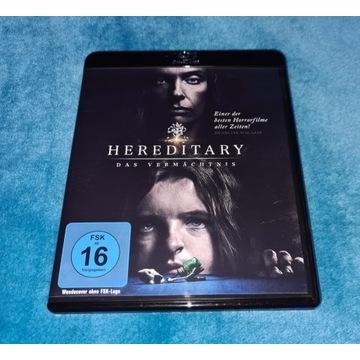 Hereditary Dziedzictwo Ari Aster Blu-Ray NOWA