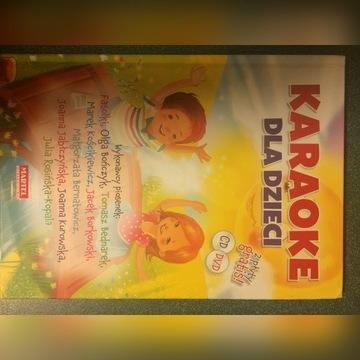 Książka + CD - Karaoke dla dzieci