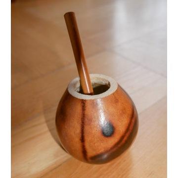 Matero do yerba mate z dyni + bambusowa bombilla