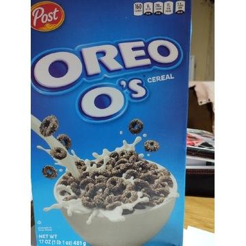 Oreo płatki śniadaniowe z USA 481 gram