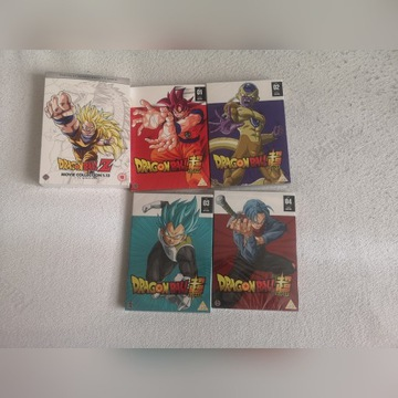 Dragon ball complete movie Collection, dbs 1-4