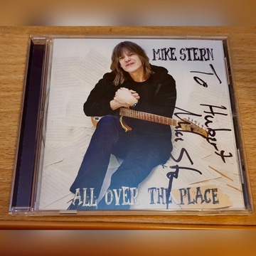 "Mike Stern - ""All Over The Place"" AUTOGRAF!"