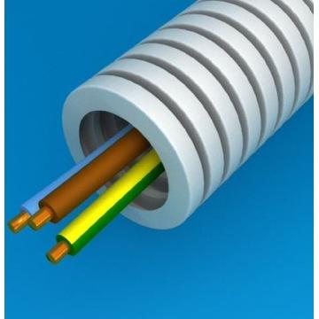 Przewód  kabel w peszlu  w rurce 3x1.5   16fi