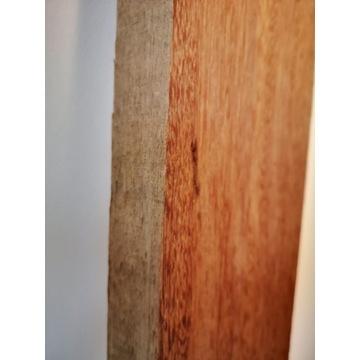 Deski - drewno egzotyczne - kempas - twarde - 4 cm
