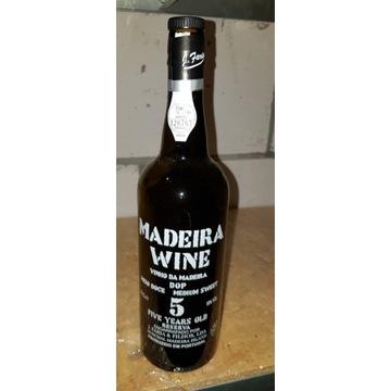 Butelka po winie Madeira