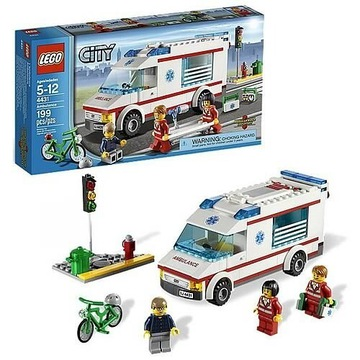 UNIKAT Lego City 4431 ambulans Karton