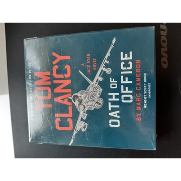 Audiobook Tom Clancy Oath of Office nowy 66 dolary