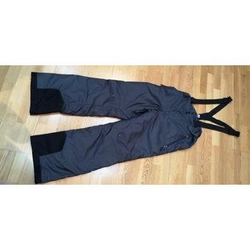 Spodnie narciarskie 175 cm, szelki, męskie