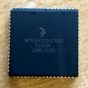 Procesor MC68HC000FN20 (DZIAŁA NA 50 MHZ)