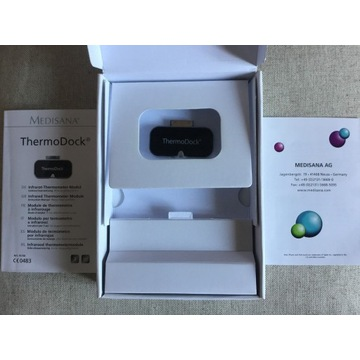 Termometr elektroniczny do iPhone iPad ThermoDock