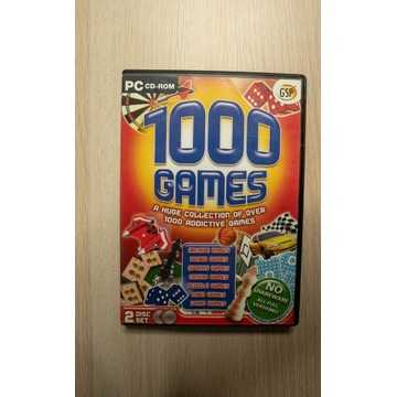 1000 Games 2x CD Gry