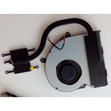 wiatrak radiator chlodzenie komplet ASUS X401A  !!