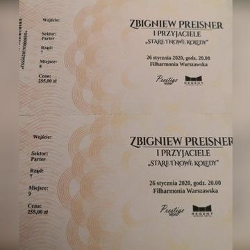 2 bilety  Zbigniew Preisner I Przyjaciele