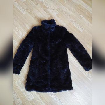 Orsay - kurtka płaszczyk futerko r.36 stan idealny