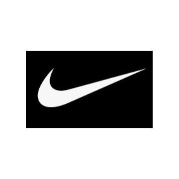 Naprasowanki Termo Nike Białe Czarne 5cm na 3cm