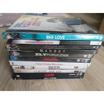 12 filmow na DVD nowe