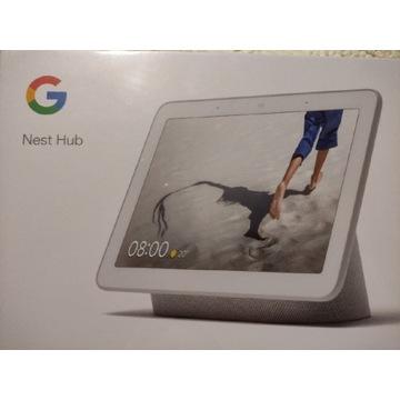 Google Nest Hub Chalk nowy jasno szary licytacja