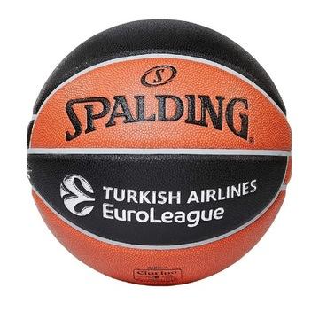 Piłka do koszykówki Spalding Euroleague TF1000