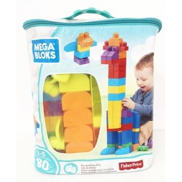 Fisher Price Mega Bloks plus Zwierzaki 134 klocki