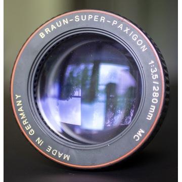 Braun Super Paxigon 280/3,5; obiektyw epidiaskopu
