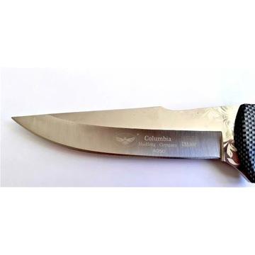 Taktyczny survivalowy nóż myśliwski BARDZO SOLIDNY